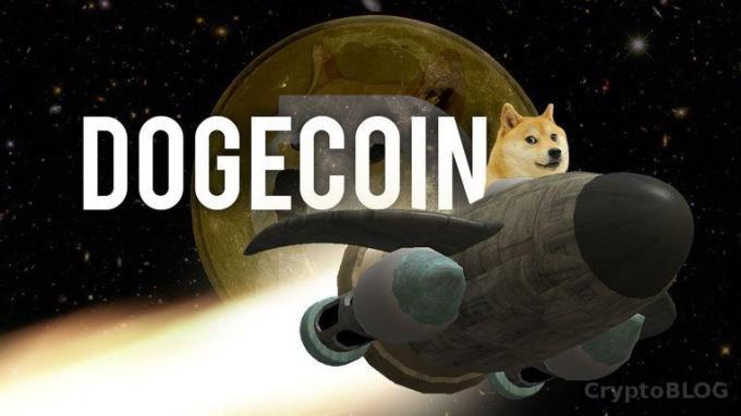 Dogecoin вырвался вперед и попал в топ-20 основных криптовалют