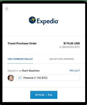 betalen met bitcoin coinbase