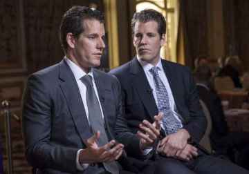 Winklevoss Tweets Bitcoin Is Gold 2.0 While Bitcoin Is Up Above $8K Once Again