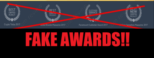 Bitcoin Cash Grab Fake Awards