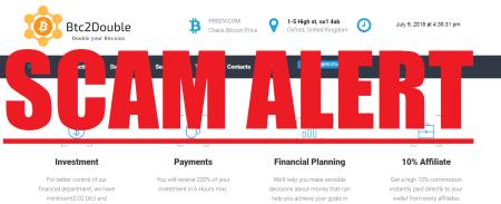 Bitcoin Doubling Scams