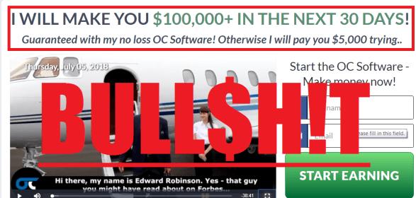 OC Software Scam