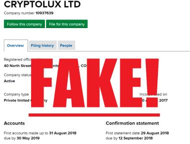 CryptoLux Scam