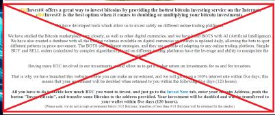 eBitInvest Scam Alert