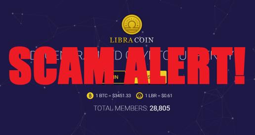 Libra Coin Alert