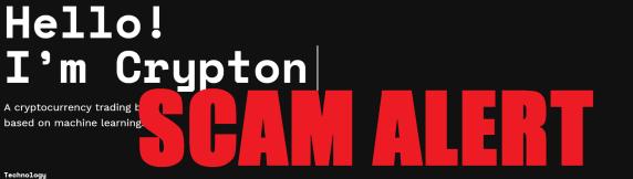 Crypton.trading alert