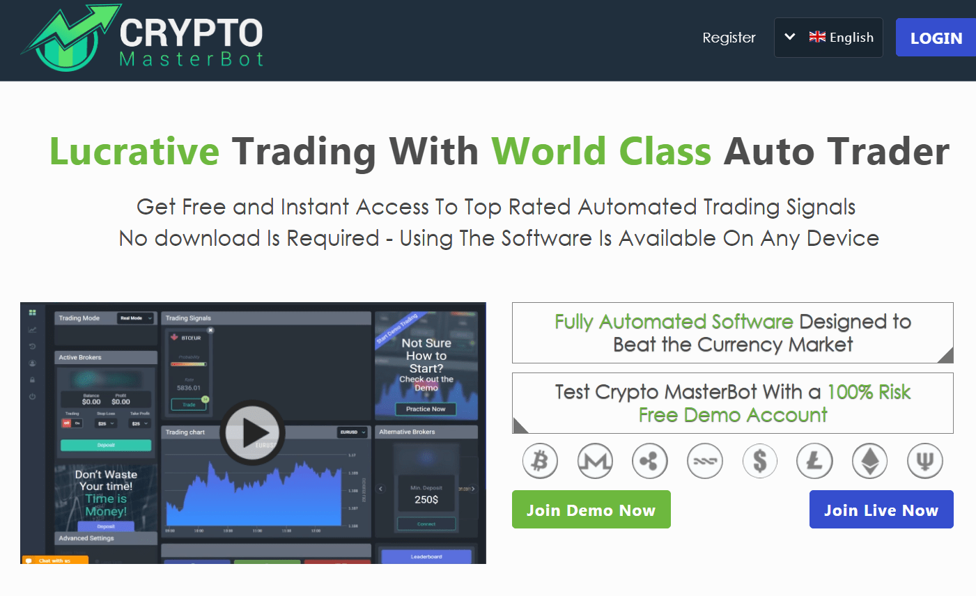 Crypto Masterbot FIRST TRADES & INFO - FOREX TRADING SUCCESS!