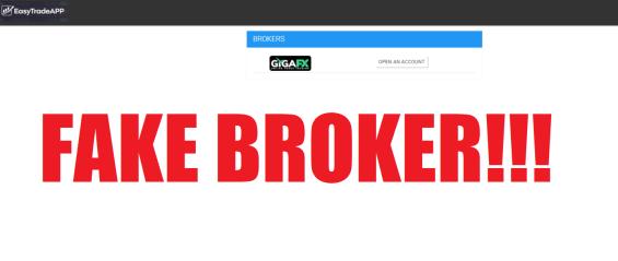 Easy Trade App Scam