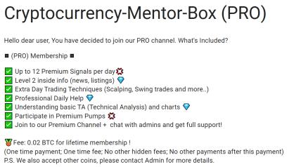 Crypto Mentor Box Pro