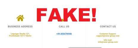 Nexo Group Scam