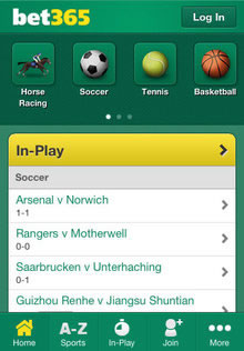 real money sportsbetting bet365 app