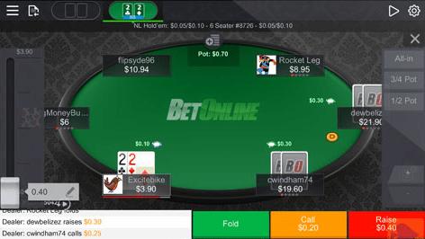 Bitcoin Online Poker App