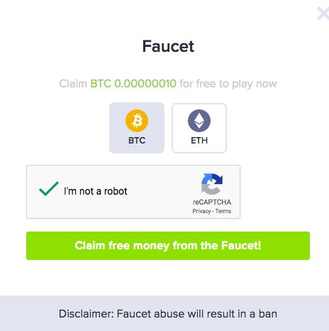stake bitcoin casino blackjack faucet