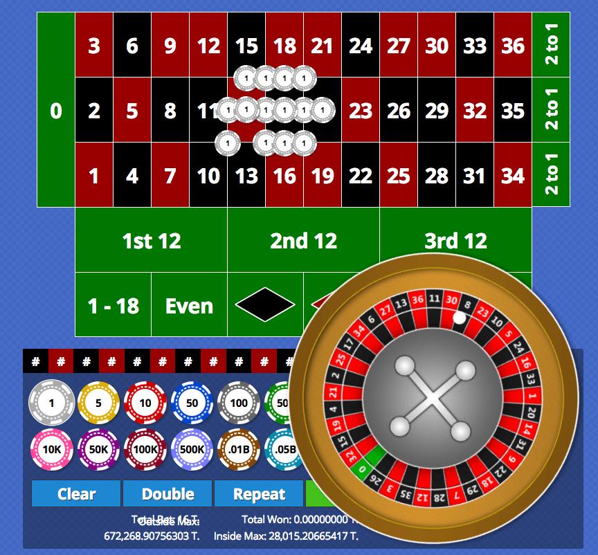 bitcoin casino roulette
