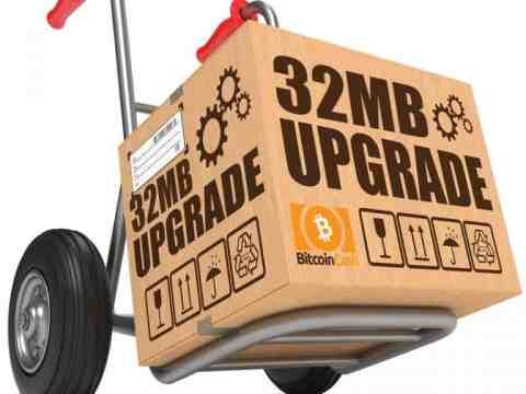 Bitcoin Cash Mines multiple 32 MB