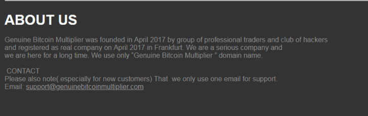 Genuine Bitcoin Multiplier