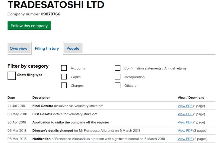 Tradesatoshi