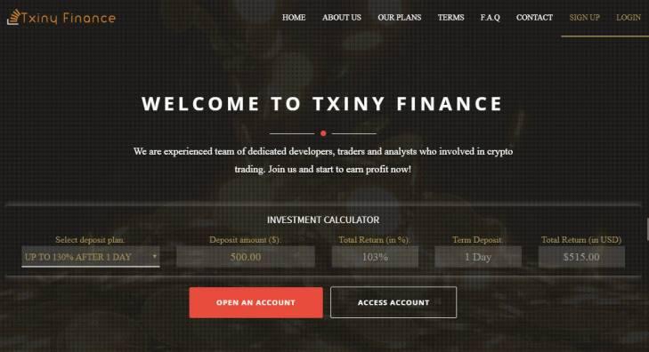 Txiny Finance
