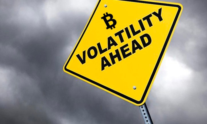 bitcoin is volatily