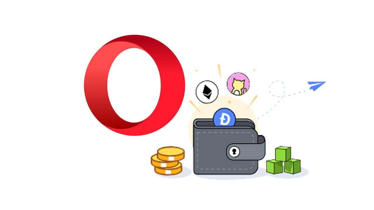 how to use opera crypto wallet