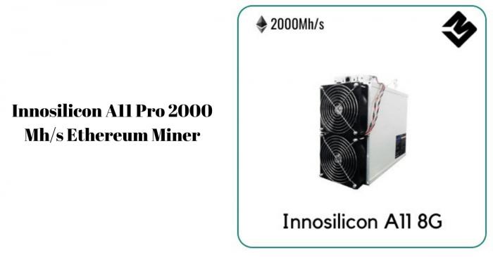 Innosilicon A11 Pro 2000 Mh/s Ethereum Miner