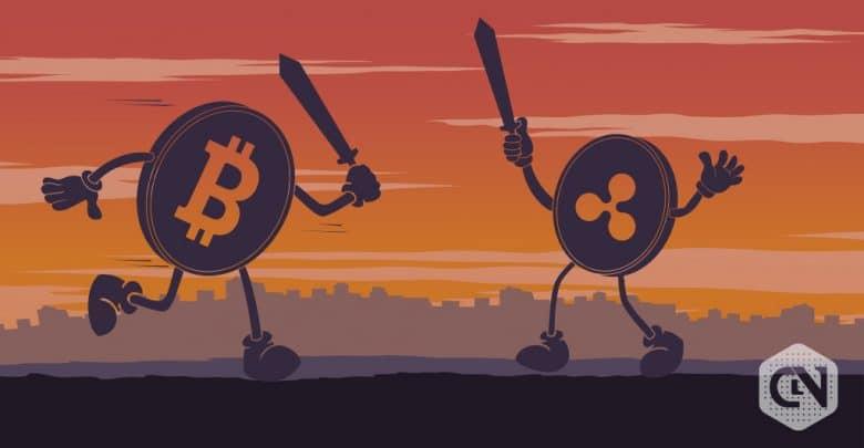 BTC vs XRP