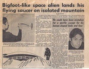 Bigfoot Aliens of Chili