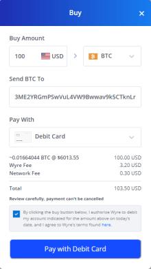 Buy Bitcion