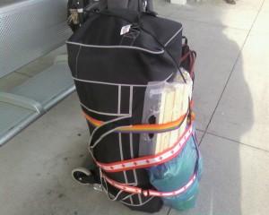 mon bagage lors de Sasquatch 2013