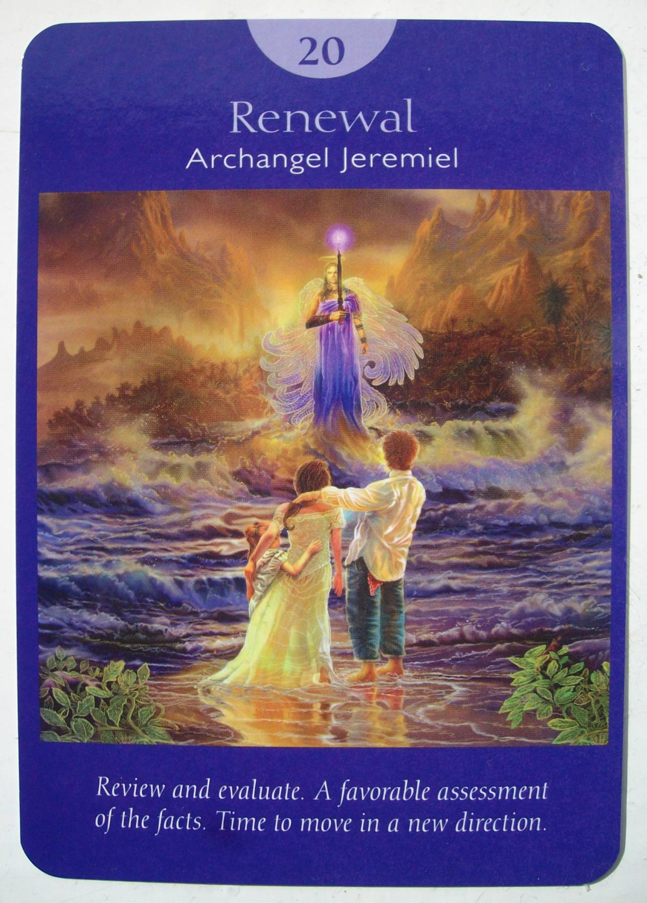 Angel Tarot Cards Doreen Virtue Crystal Life