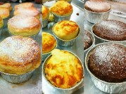 Souffles: Cheese, Chocolate, Grand Marnier