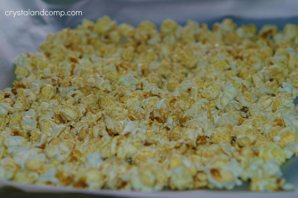 How To Make Valentine Popcorn