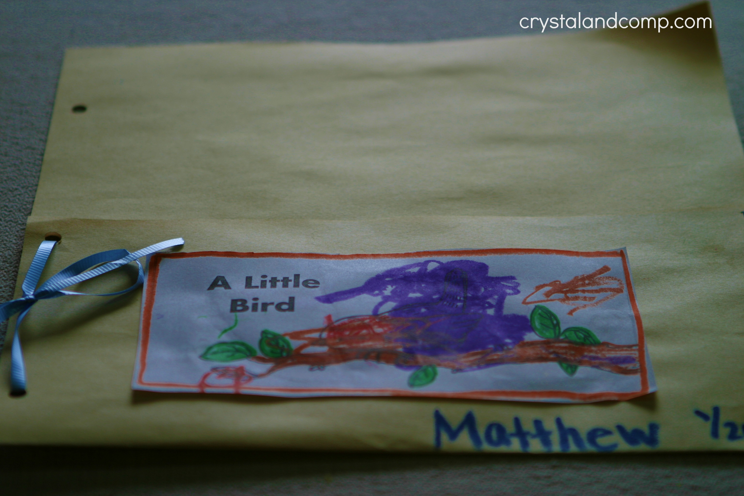 Homeschool How To Make Nursery Rhyme Pockets For