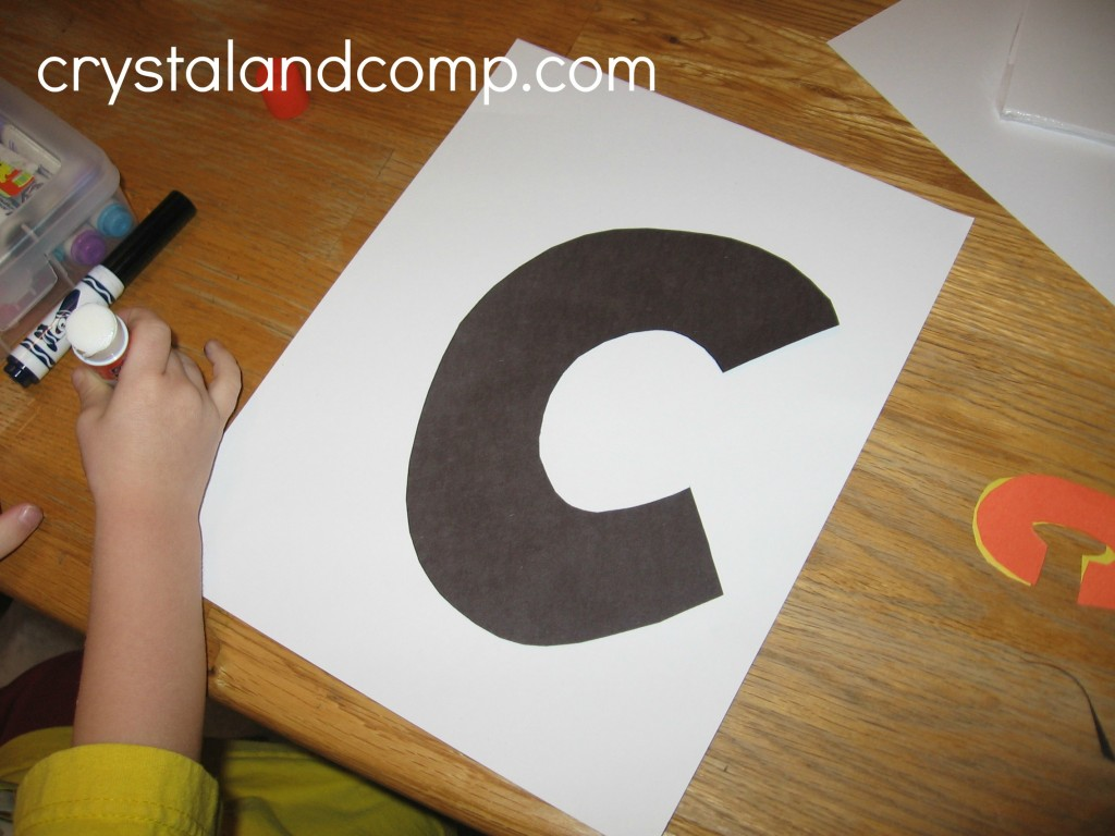 C Is For Car Letter Of The Week Preschool Craft