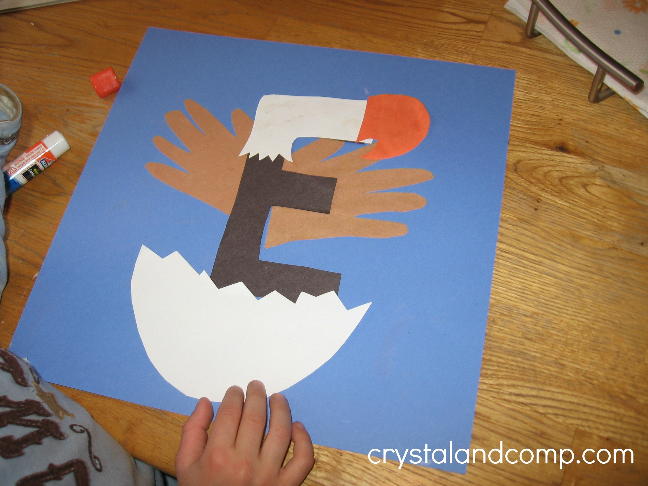 Letter E Crafts Preschool