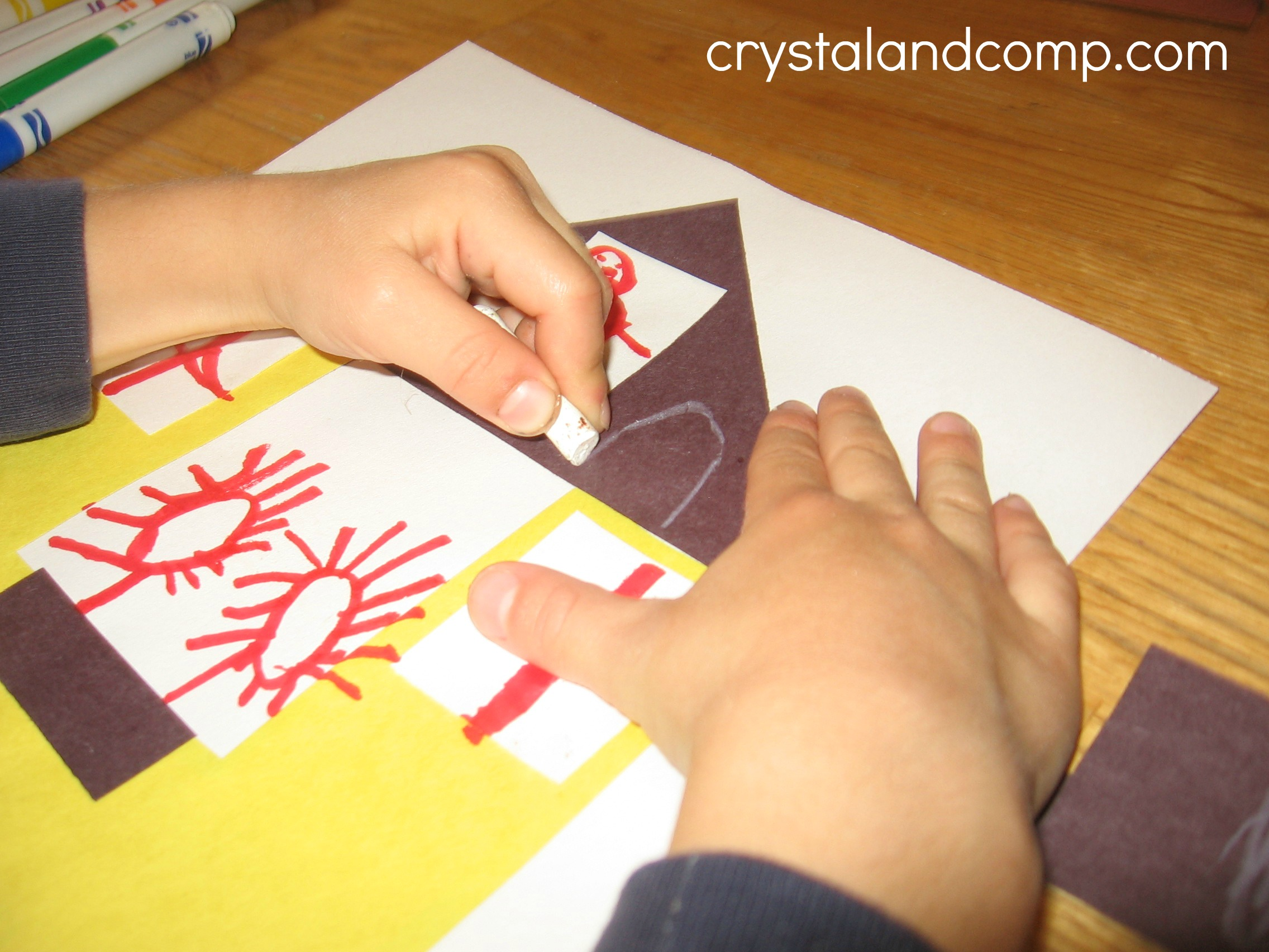 H Is For House A Letter Of The Week Preschool Craft