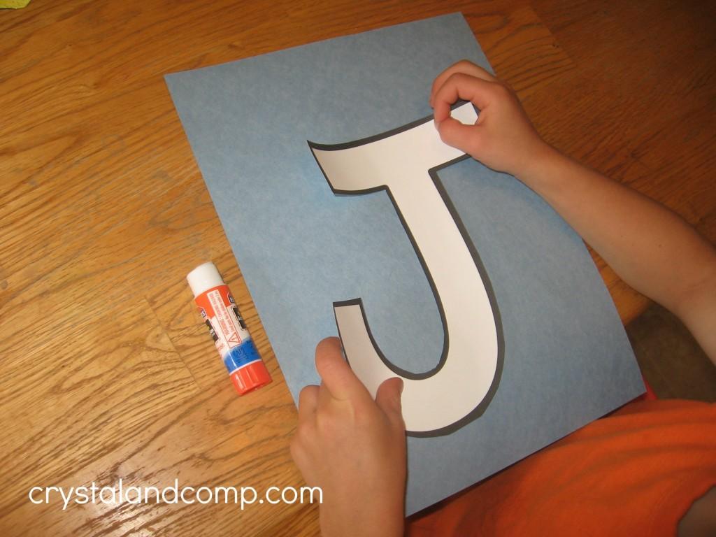 Alphabet Activities For Preschoolers J Is For Jelly Fish