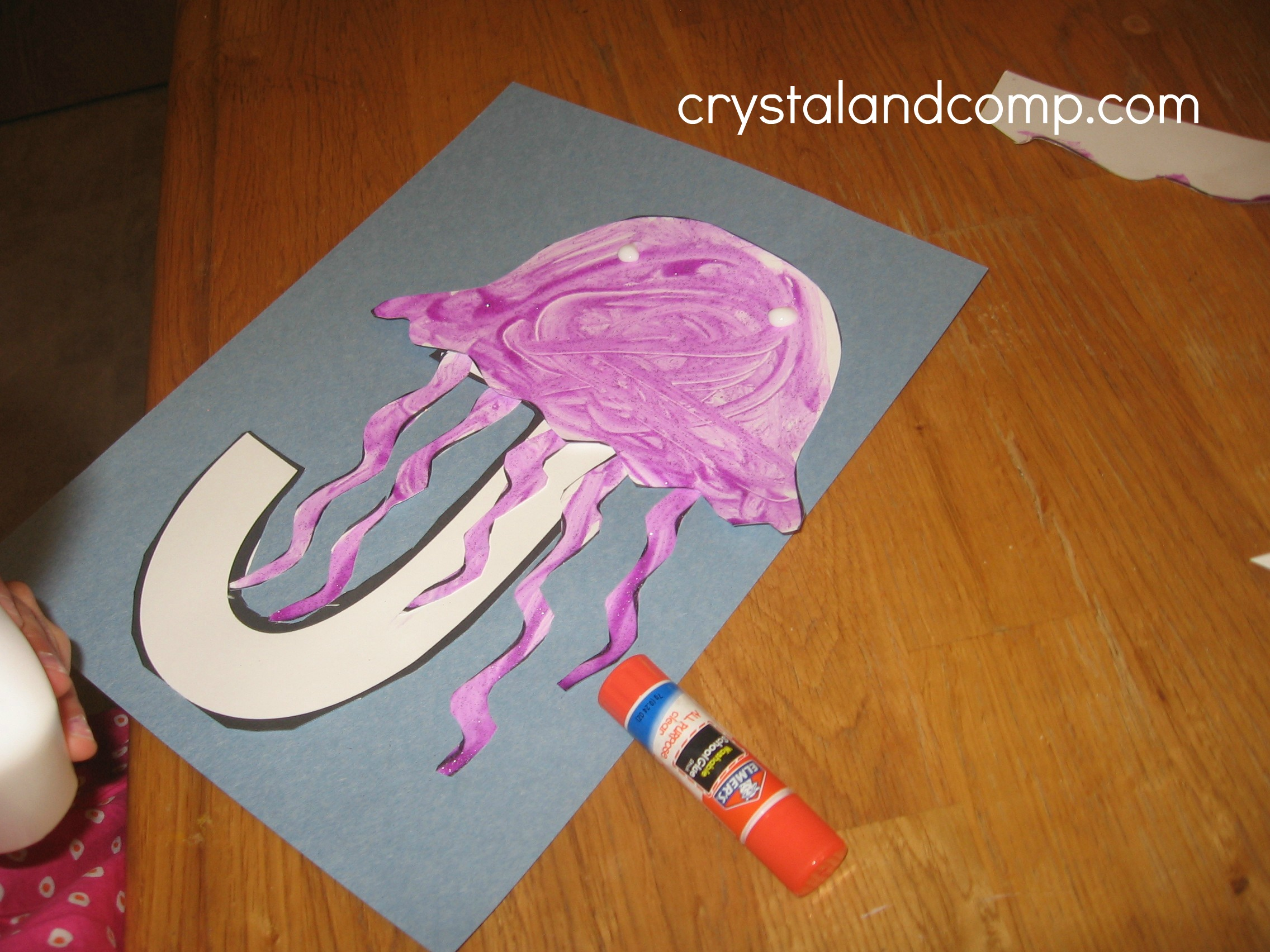 J Is For Jellyfish Letter Of The Week Preschool Craft