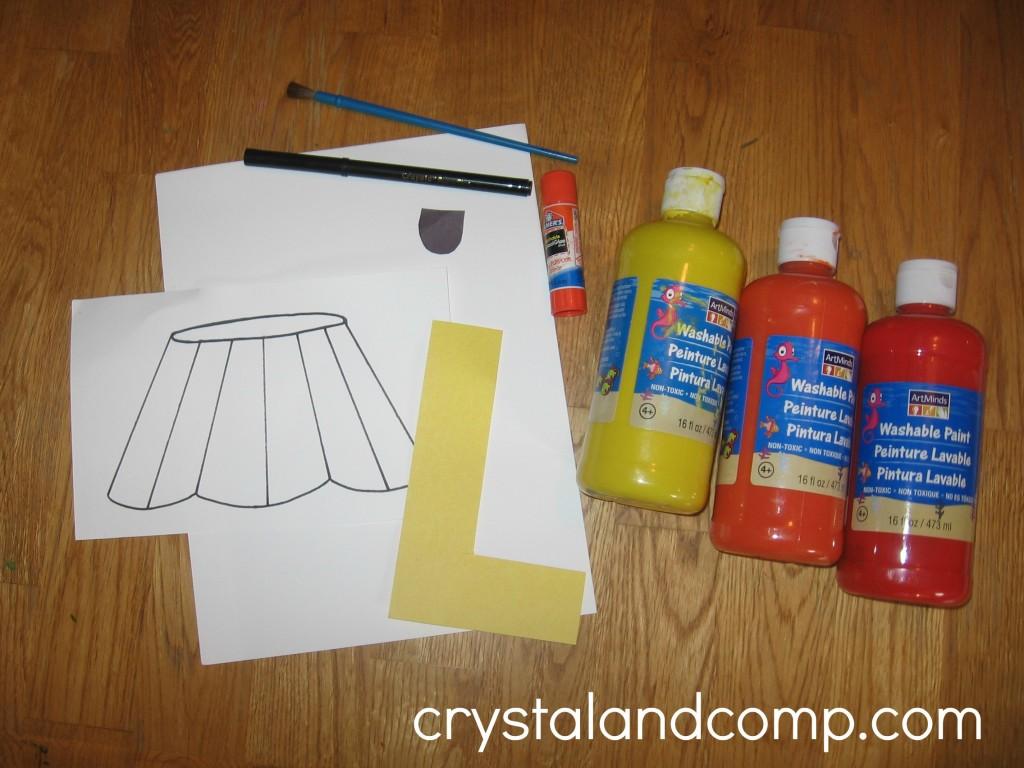Alphabet Activities For Preschoolers L Is For Lamp