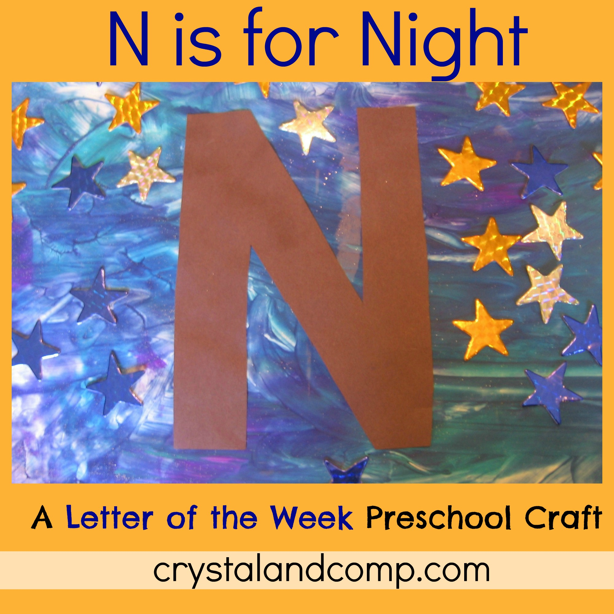 Alphabet Activities For Preschoolers Letter Of The Week N