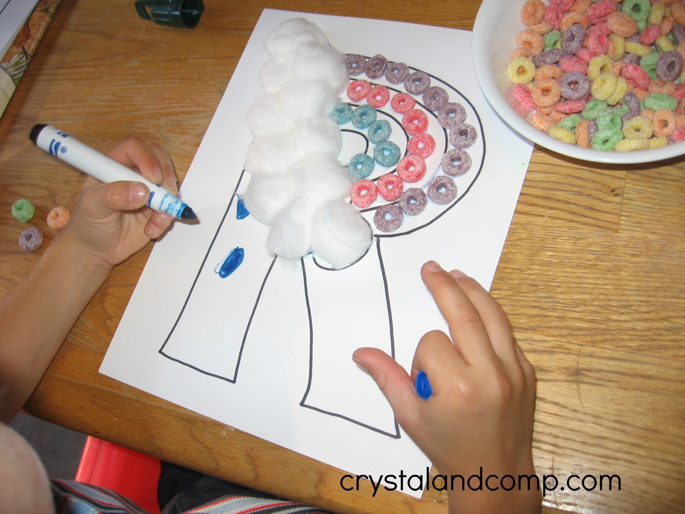 Letter Of The Week R Is For Rainbow Preschool Craft