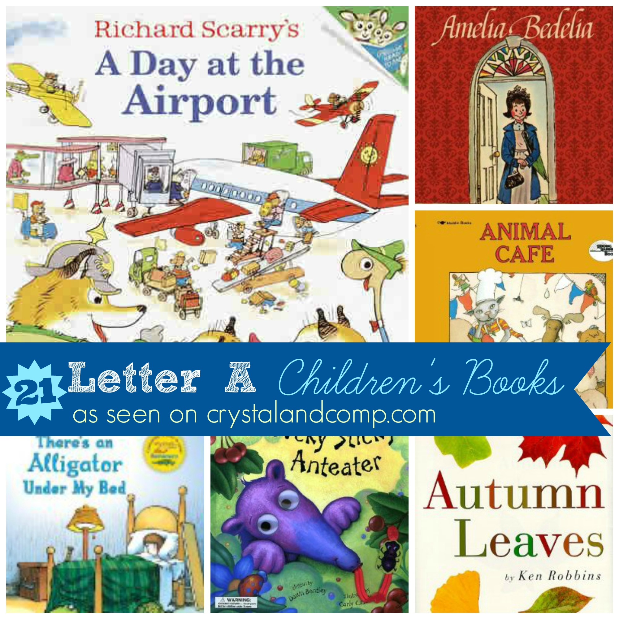 Books Children Must Read Letter A