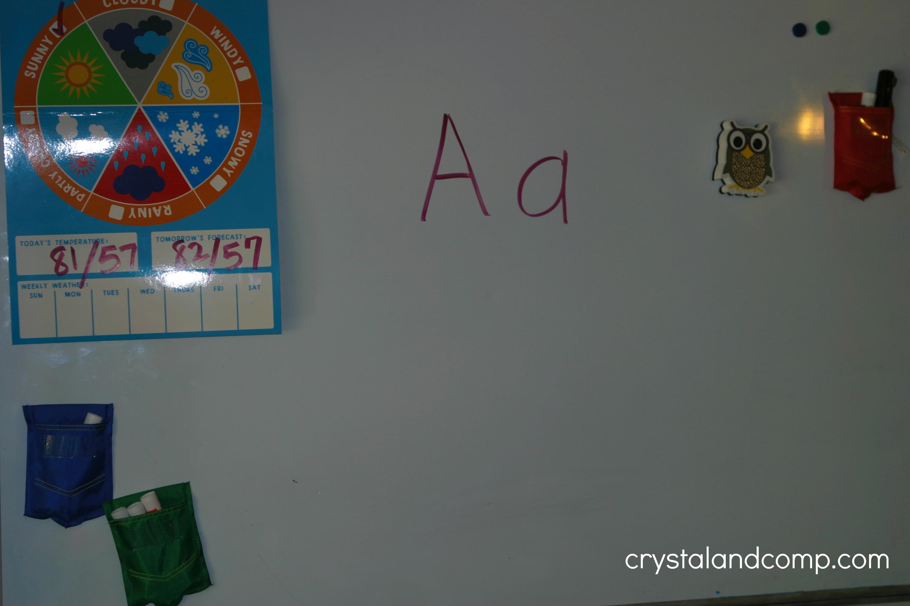 Preschool Letter Worksheets A Is For Alligator