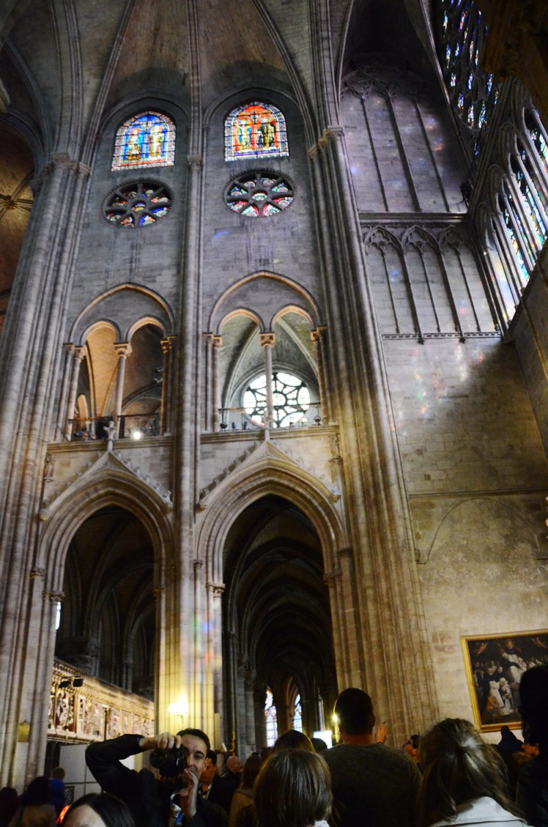 paris Notre Dame cathedral