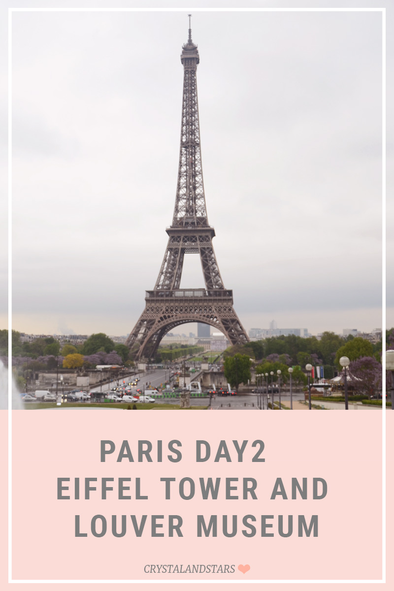 PARIS DAY 2 – EIFFEL TOWER AND LOUVER MUSEUM