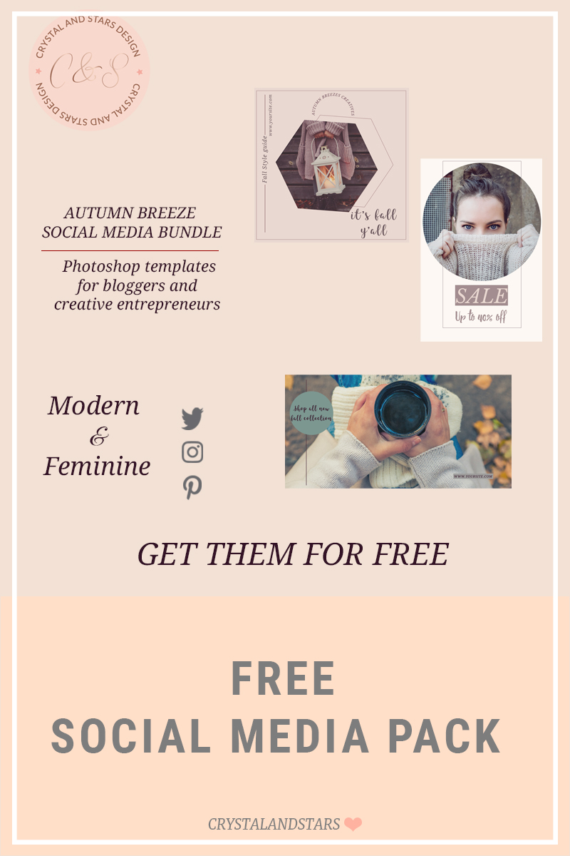 FREE SOCIAL MEDIA PACK – FALL BREEZE