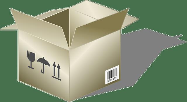 引っ越し荷造りのコツ。すぐに使うものは一個のダンボール箱にまとめて目立つように