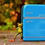 フレンチドアの冷蔵庫が転勤族の生活を変える