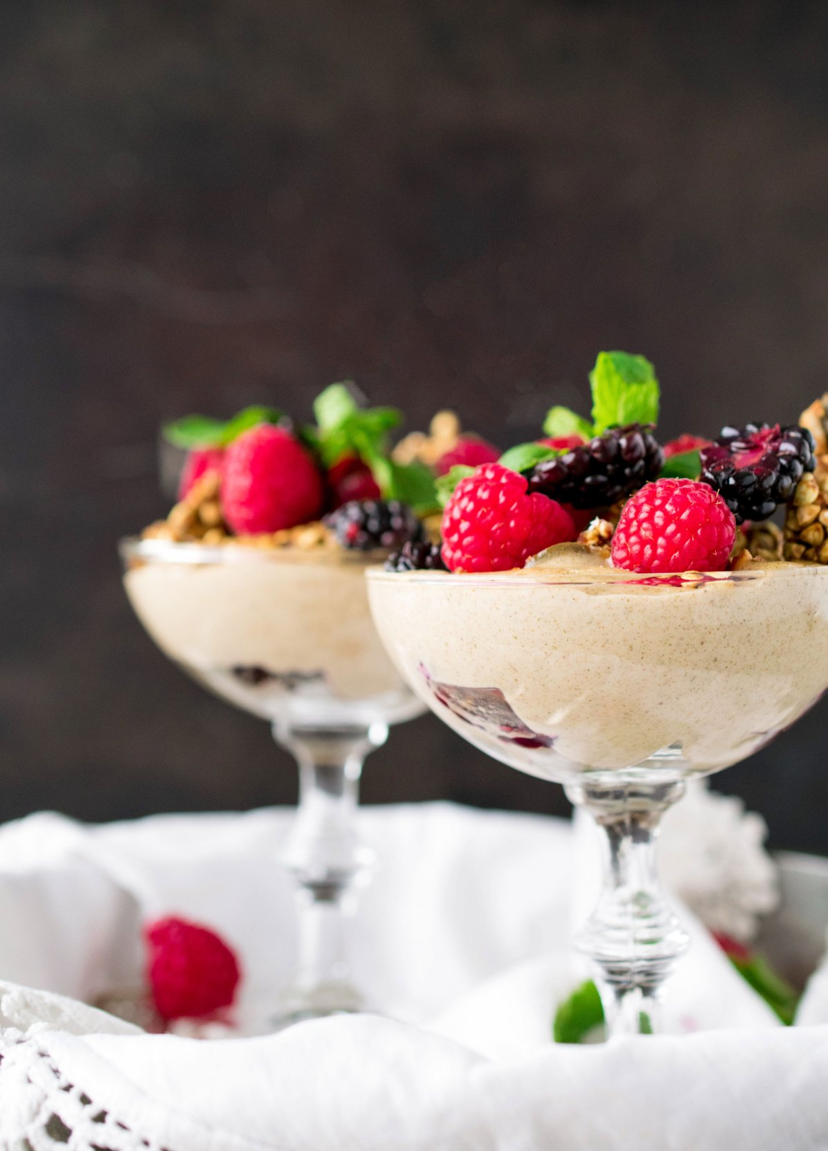 Hemp Seed Yogurt Parfait