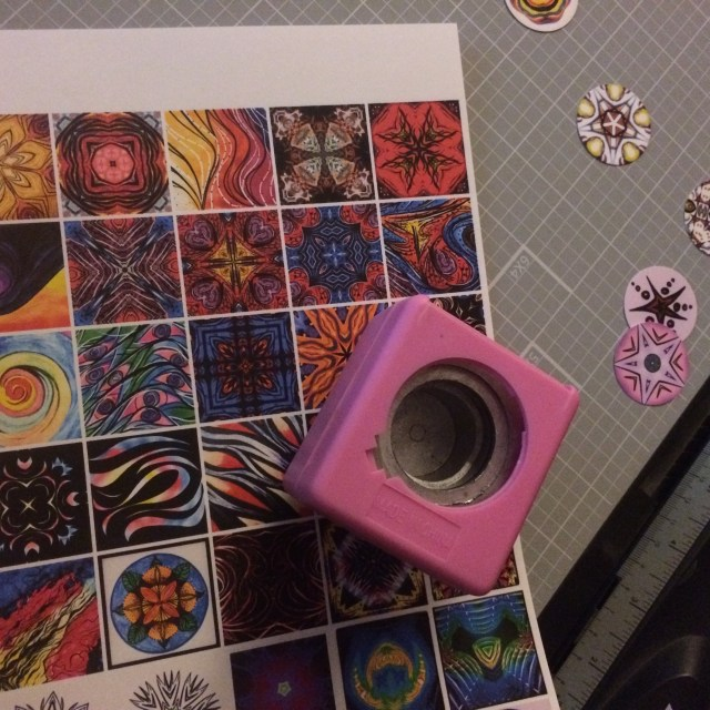 Cutting images for magnets